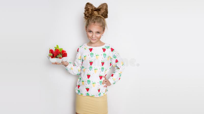 Strawberry young girl nude
