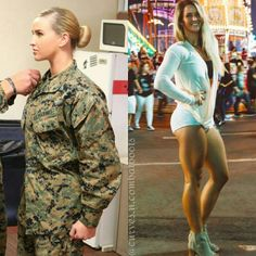 Sexy army girls turns room mate