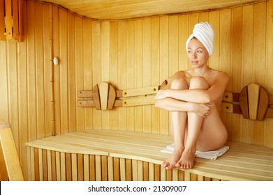 Girls nude at spa